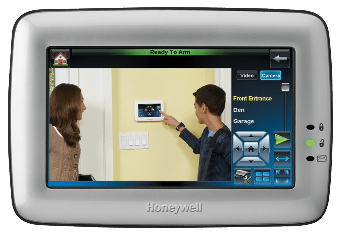 Honeywell's Tuxedo Touch™ Home Security and Automation, Hands-free Voice Control, Video Viewing/Recording and More!